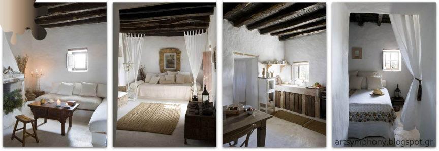 Amenajare living dormitor bucatarie_grej crem negru_Delta Dunarii