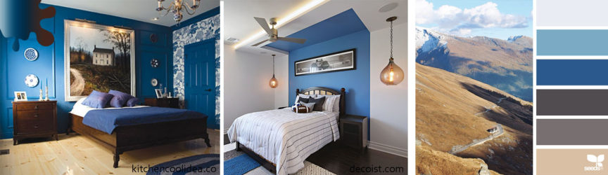 amanejare dormitor_bleumarin_alb