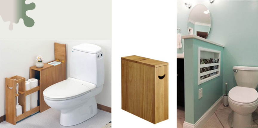 amenajare baie_maro_depozitare WC lemn