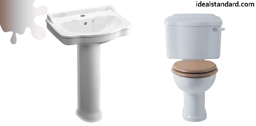amenajare baie_vintage_lavoar vas wc