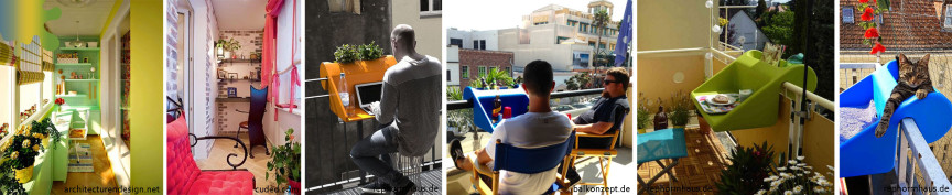 amenajare balcon_verde portocaliu rosu_birou