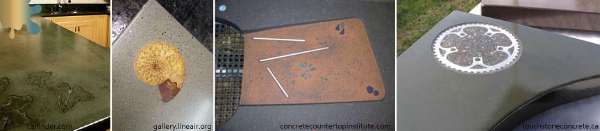 amenajare bucatarie_verde ocru_blat beton