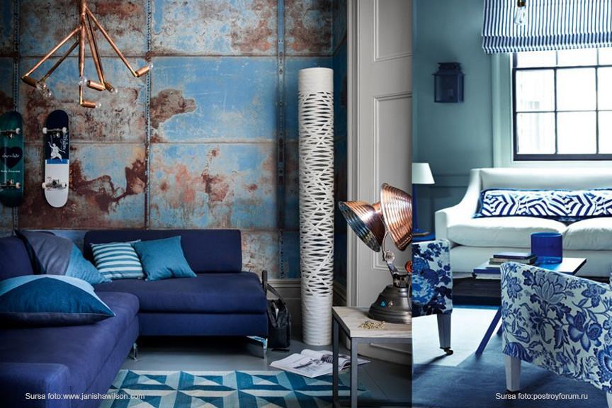 amenajare interioara living_feng shui_albastru