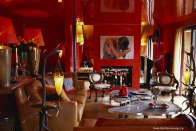amenajare interioara living_feng shui_rosu imperial