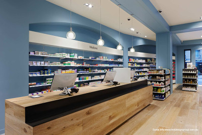 amenajare interioara_farmacie-albastru