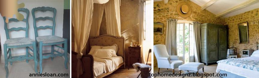 amenajare provence_crem bleu olive_mobilier dormitor