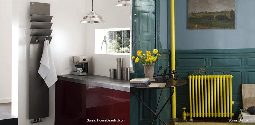 radiatoare decorative_amenajare_design modern_galben_verde